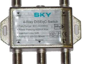 ClearView 4 Input Diseqc Switch