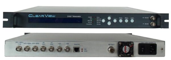 ClearView KR2401 DVBT Modulator with ASI in-0