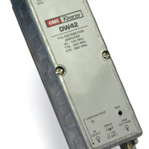 Kingray DW42 F-Type Distribution Amplifier