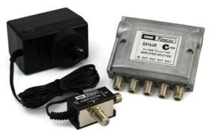 Kingray SA164F 4 Way Splitter Amplifer