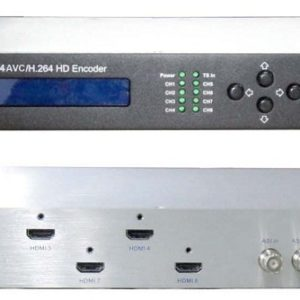 ClearView KR3218A 8 input HDMI HD MPEG4 Encoder with IP/ASI out