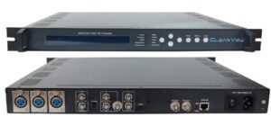 ClearView KR3211H 4 in 1 H264 MPEG4 Encoder with IP/ASI out