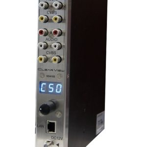 ClearView SD4105 Quad SD CVBS Digital Encoder/Modulator