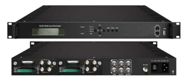 ClearView KR3542D Multi-input DVBS2 to DVBT Transmodulator-0