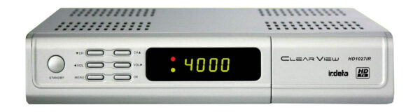 ClearView HD1027IR HD Digital Satellite Receiver with Licensed Irdeto card slot-0
