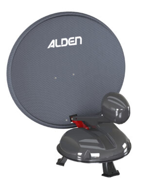 Alden Satlight 60cm Portable Automatic Dish System for Travelers