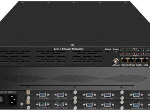 ClearView KR425H 16 Input SD CVBS DVBT Modulator 4 Carriers Out