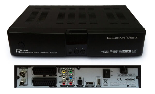 Special- 5 Sets of ClearView DTR2010HD Digital Terrestrial Mpeg4 Receiver-0