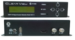 ClearView HD3111 Single HDMI Input HD ISDBT/DVBT 6M Encoder Modulator