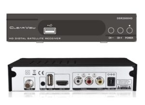 ClearView DSR2000HD DVBS2 Small Sized Digital Satellite Receiver