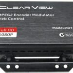 ClearView HD1122 MPEG2 Single HD DVBT Modulator Web GUI Control